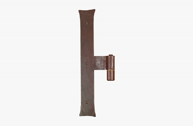 Forged iron vertical hinge