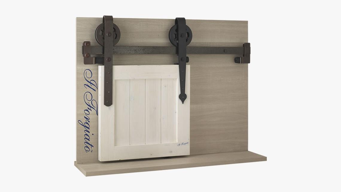 Il forgiato sistema porta scorrevole - Chiusura per porta scorrevole ...