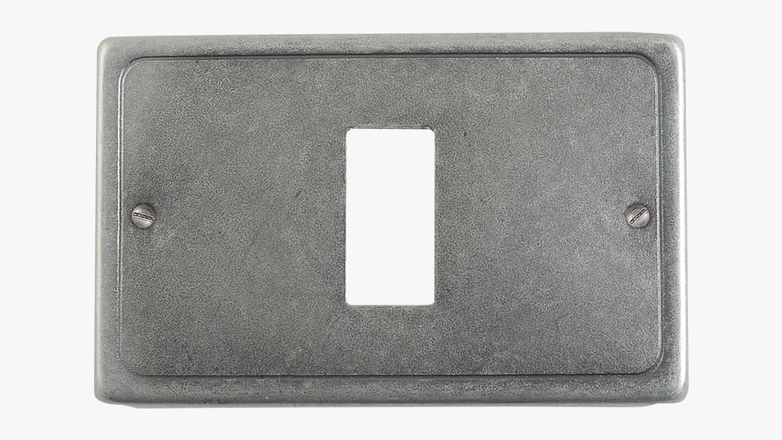Iron switch cover